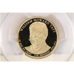 2013-S WILLIAM H. TAFT PRESIDENTIAL DOLLAR PCGS PR