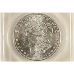 1888 VAM-16A DDR MORGAN SILVER DOLLAR ANACS MS62