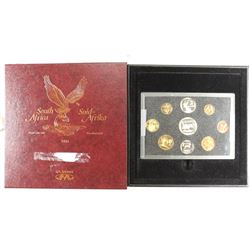 1995 SOUTH AFRICA PROOF SET