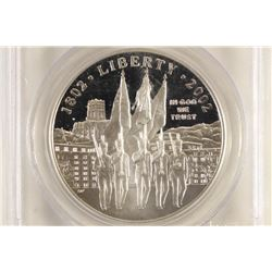 2002-W WEST POINT BICENTENNIAL COMMEMORATIVE