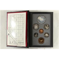 1992 CANADA DOUBLE DOLLAR PROOF SET STAGECOACH