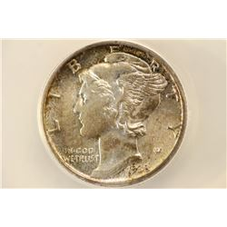 1938 MERCURY DIME ANACS MS62