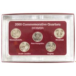 2000-D SET OF 50 STATE QUARTERS BRILLIANT UNC