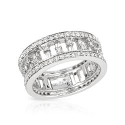 1.15 CTW Diamond Ring 14K White Gold - REF-94K2W