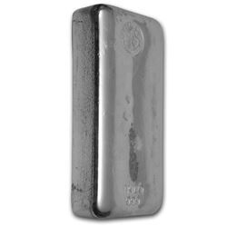 Genuine 1 kilo 0.999 Fine Silver Bar - Perth Mint