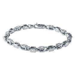 3.43 CTW Diamond Bracelet 14K White Gold - REF-364F8N