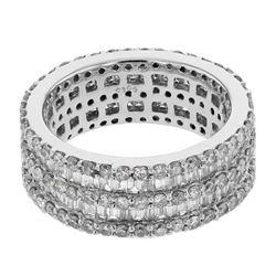 1.98 CTW Diamond Ring 14K White Gold - REF-183K9W