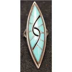 ZUNI INDIAN RING (AMY AND DICK QUANDELACY)