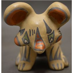 SANTA CLARA INDIAN POTTERY FIGURE ( MARGARET AND LUTHER GUTIERREZ)