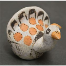 ACOMA INDIAN POTTERY TURKEY (LUCY M LEWIS)