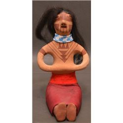 MOHAVE INDIAN POTTERY DOLL (GATES)