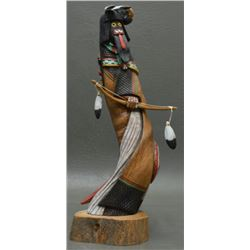 HOPI INDIAN KACHINA (LOMAOYA)