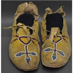 ARAPAHO INDIAN MOCCASINS