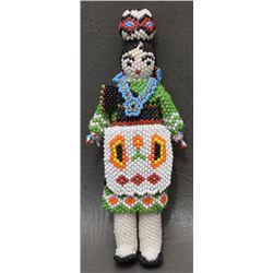 ZUNI INDIAN BEADED DOLL