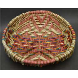 HOPI INDIAN SIFTER BASKET (STEPHANIE LOMATEWAMA)