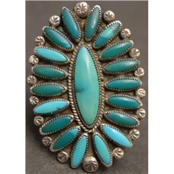 NAVAJO INDIAN RING ( ANNABELLE PETERSON )