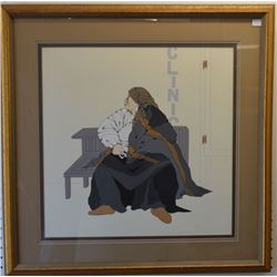 COMANCHE INDIAN PAINTING (DIANE O'LEARY)