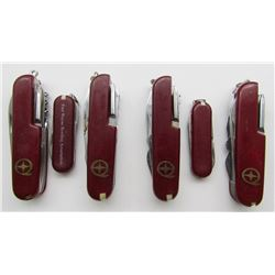 4 MADE IN CHINA-SWISS ARMY KNIFE STYLE
