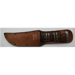 WWII US THEATRE MADE FIGHTING KNIFE.