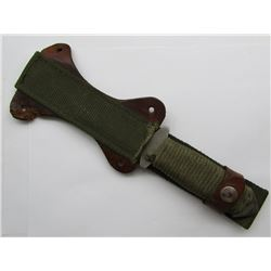 HAND MADE SURVIVAL KNIFE WITH SAW BACK DOUBLE EDGE