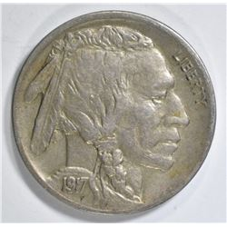 1917-D BUFFALO NICKEL VF