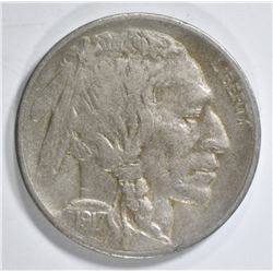 1917-S BUFFALO NICKEL XF