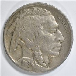 1919-D BUFFALO NICKEL VF