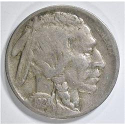 1924-D BUFFALO NICKEL VF
