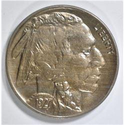 1927 BUFFALO NICKEL CH BU