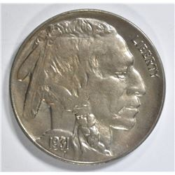 1931-S BUFFALO NICKEL BU