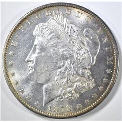 1878 7 TF REV OF 79 MORGAN DOLLAR CH BU