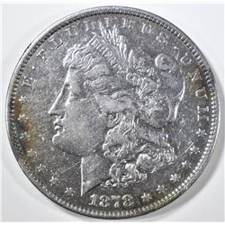 1878 7/8TF MORGAN DOLLAR XF