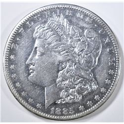 1885-S MORGAN DOLLAR AU