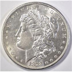 1878-S MORGAN DOLLAR   CU BU