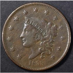 1835 HEAD OF 36 LARGE CENT, VF