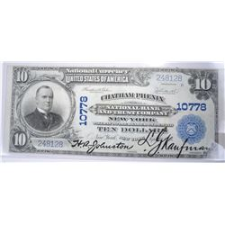 1902 PB $10 NATIONAL CURRENCY