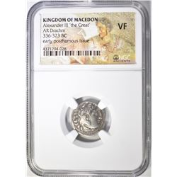 336-323 BC  KINGDOM OF MACEDON  ALEXANDER III THE