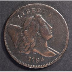 1794 LIBERTY HALF CENT  SHARP XF