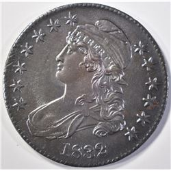 1832 CAPPED BUST HALF DOLLAR  CH UNC