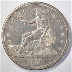 1876-S TRADE DOLLAR  CH AU