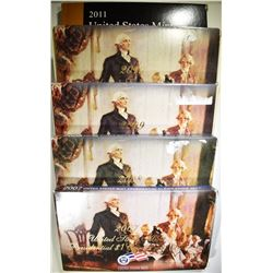 2007-2011 US PRESIDENTIAL PROOF SETS