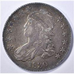 1830 BUST HALF DOLLAR, XF