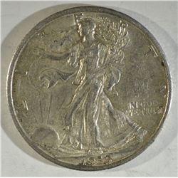 1935 WALKING LIBERTY CH BU