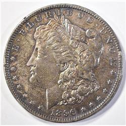 1896 MORGAN DOLLAR   UNC  COLOR