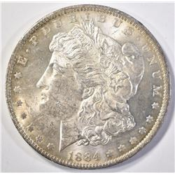 1884-O MORGAN DOLLAR  CH BU
