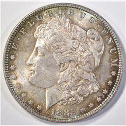 1885 MORGAN DOLLAR   CH BU  GREAT TONING