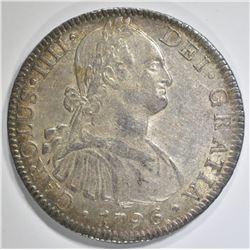 1796 MEXICO 8 REALES