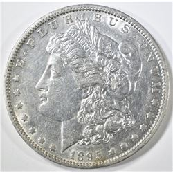 1895-O MORGAN DOLLAR  AU/BU