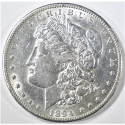 1894-S MORGAN DOLLAR  AU