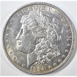 1893 MORGAN DOLLAR  AU+